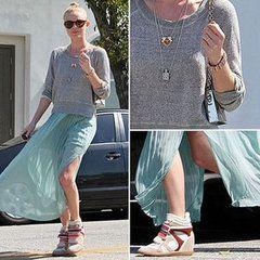 Kate Bosworth in Isabel Marant kicks  For Fashion Freaks