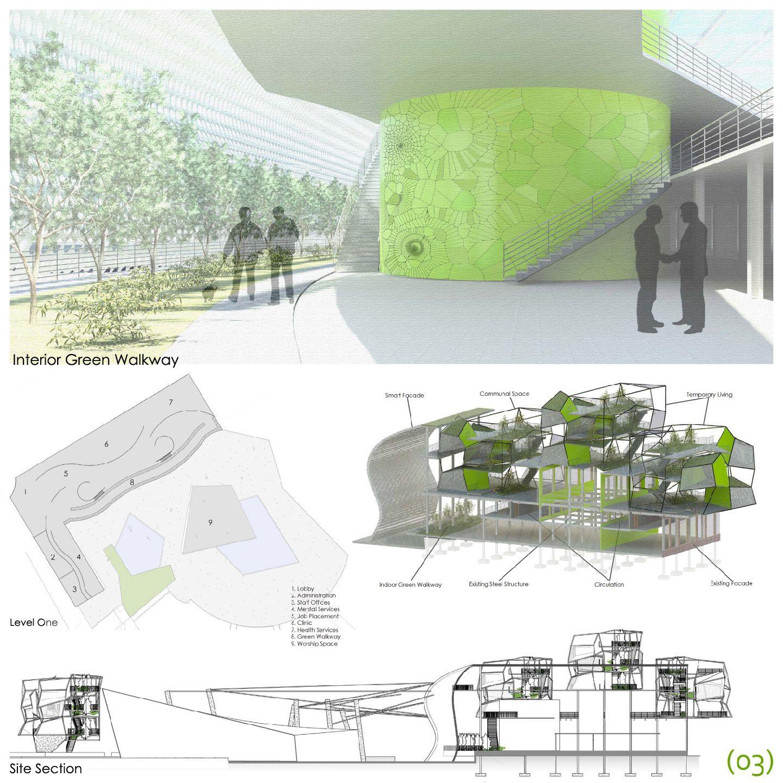 Architecture Presentation Boards Steel Competition Google Search