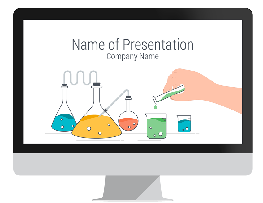 science powerpoint template, Modern powerpoint