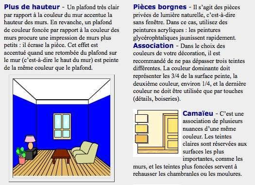 peinture pour plafonds bas | idées pour la maison | pinterest ... - Comment Peindre Pour Agrandir Une Piece