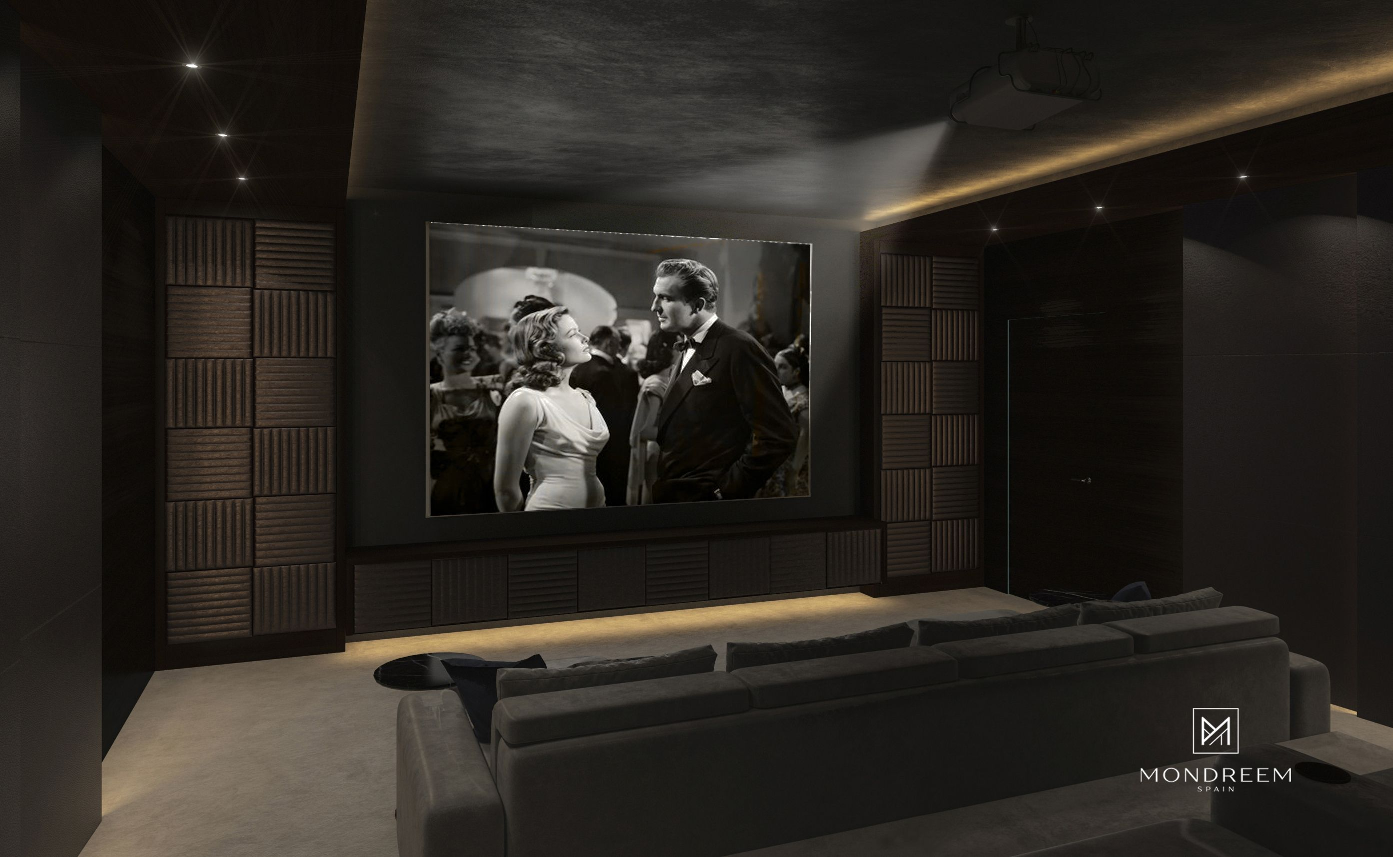 Addis views villa ethiopia mondreem interiors home cinema design
