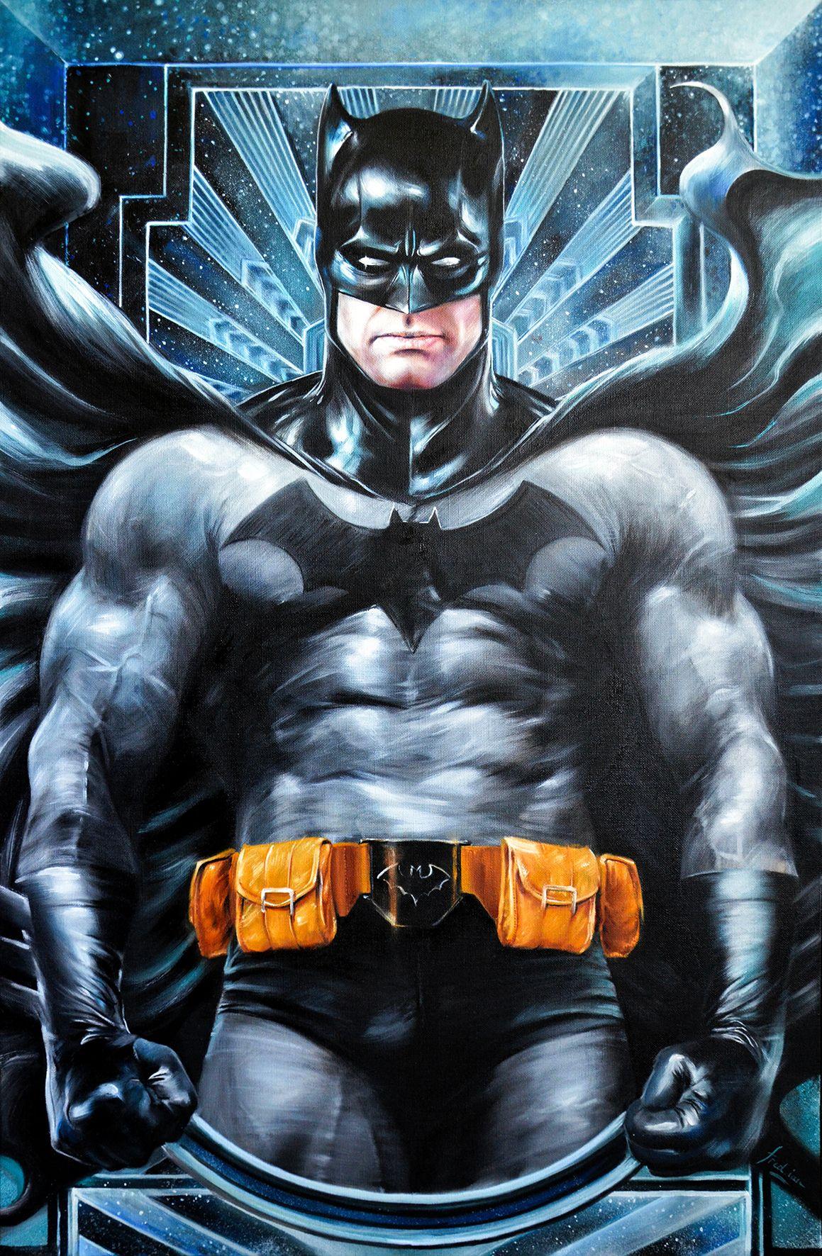 Photo de l'œuvre de Fred Ian : Batman