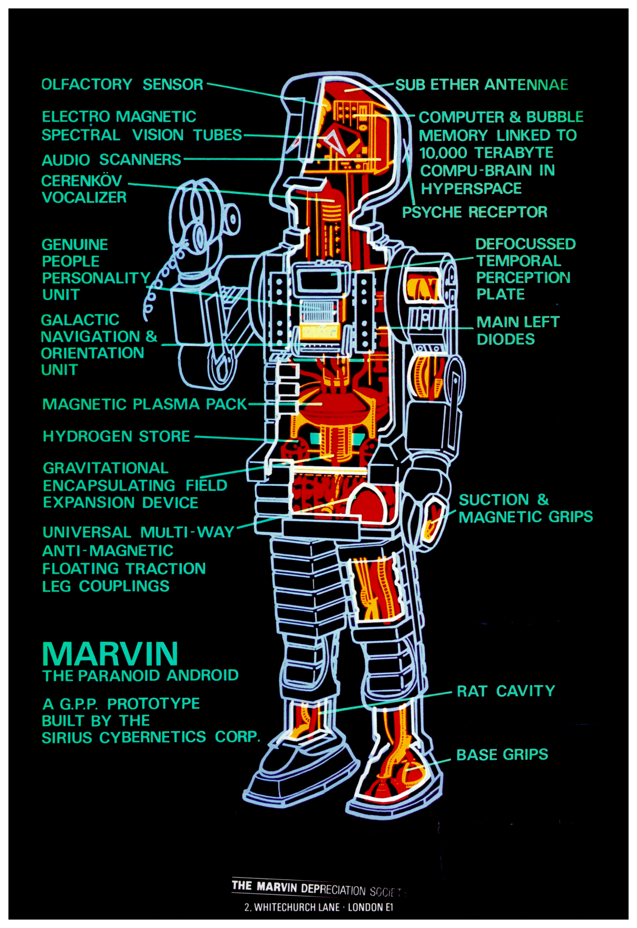 Marvin The Paranoid Android From The Hitchhikers Guide To -2192