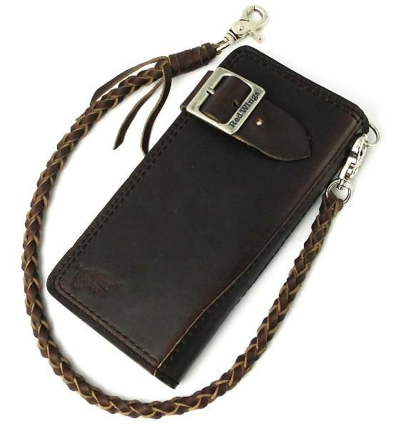 Postage, 960-2108-24 collect on delivery fee free of charge authorized agent RED WING redwing rider long wallet wallet Horween Leather Ho Win leather chocolate