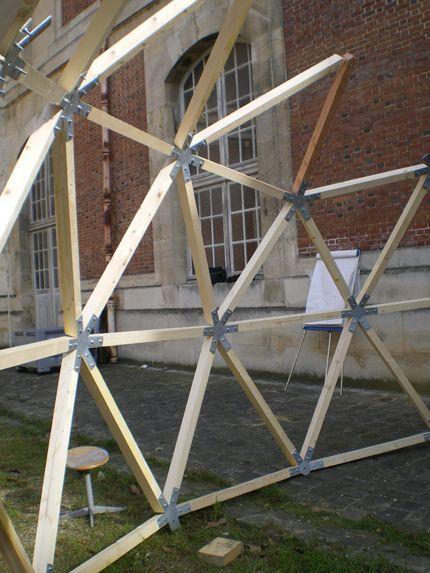 geodesic conector, bellastock Geodesicas Pinterest Serre - Comment Monter Une Terrasse En Bois