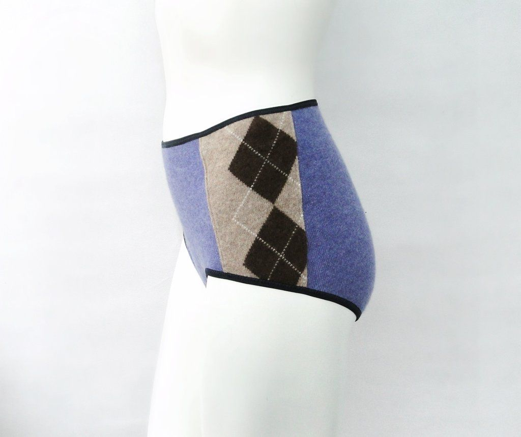 a0a02f7ab86f high cut cashmere panty brief. Handmade in Canada by Econica. #lingerie  #sale #organiccotton #panty #cashmere