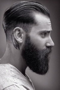 Greaser Hair Styles For Men Greaser Hair Greaser Hair Rockabilly Hair Men Beard Hairstyle