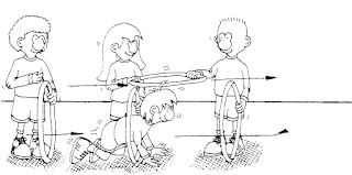 Photo of Pruebas, desafíos y juegos con aros de diversos tamaños