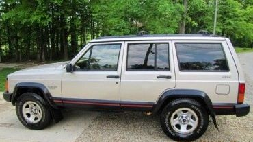 1995 Jeep Cherokee Sport~this Is Exactly Like My Wifeu0027s Jeep :)