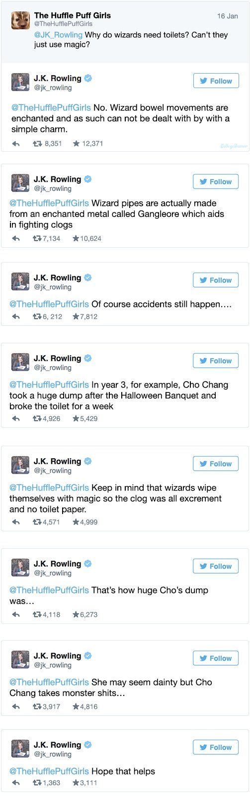 j k rowling s twitter is out of control cas what is this and j k rowling s twitter is out of control i have no words for this
