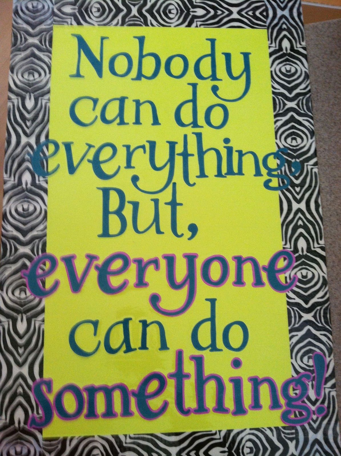 Motivational Bulletin Boards for High School Homemade
