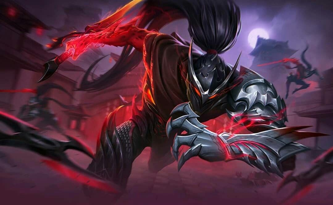 Skin Epic Hayabusa  Mobile legend wallpaper, Mobile legends