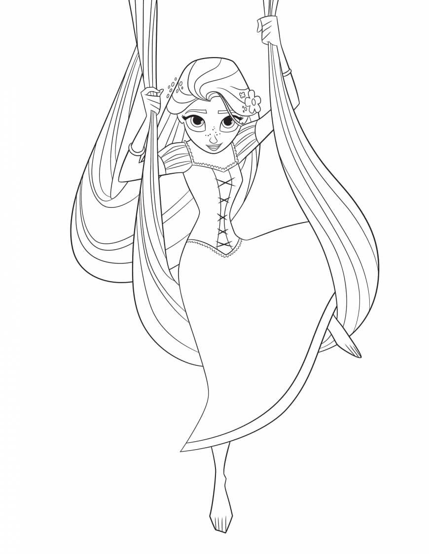 Tangled The Series Coloring Pages Printable Tangled Coloring Pages Rapunzel Coloring Pages Princess Coloring Pages