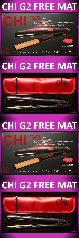 Straightening and Curling Irons Chi G Titanium Ceramic  Hair