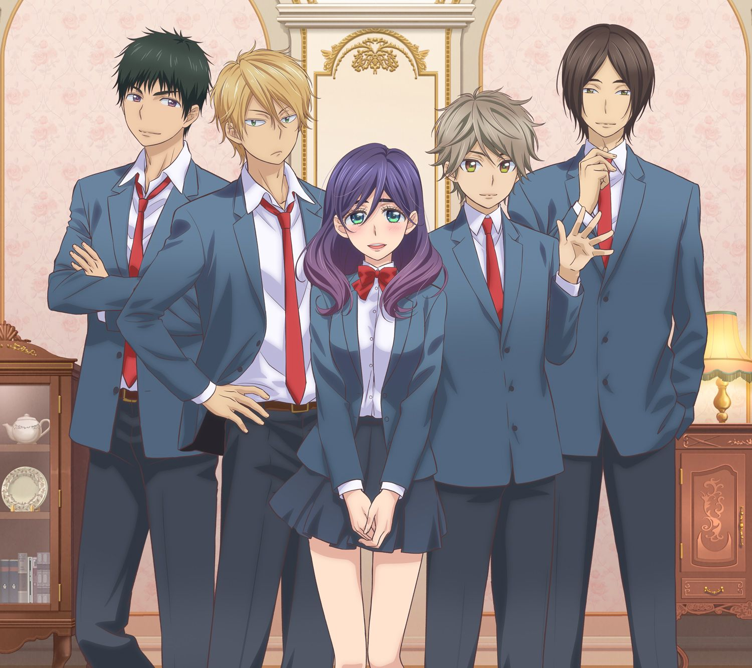 Image result for kiss him not me Anime kiss, Romantic