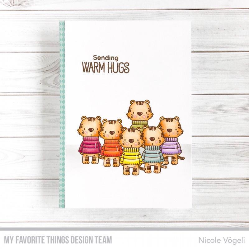 Sweater Weather On Safari By Birdie Brown, My Favorite Things Clear Stamps