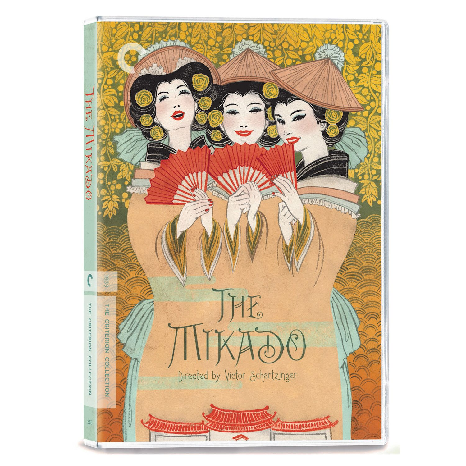 The Criterion Collection: The Mikado Dvd/blu-ray - DVD #bluray