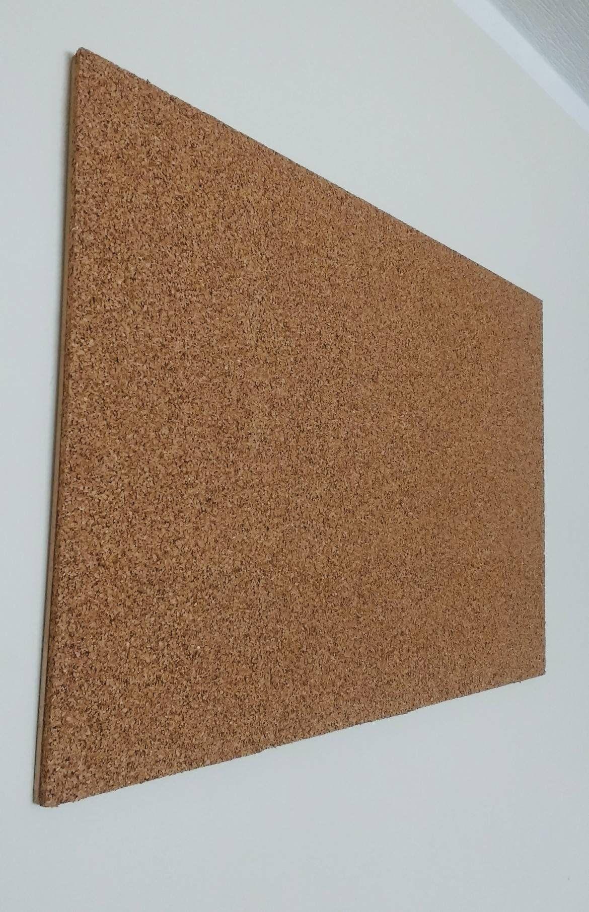 "24/"" x 60/"" x 1//4/"" CORK ROLL custom cut tile bulletin board sheet wall acoustic"