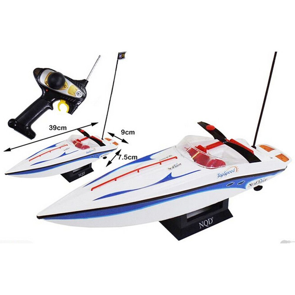1:25 Radio Remote Control Speedboat RC Electric Racing Watercraft Yacht Toy Hobby