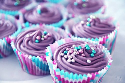 Cupcakes Tumblr Purple Cupcakes Via Its Aimee Cupcakes Pinterest