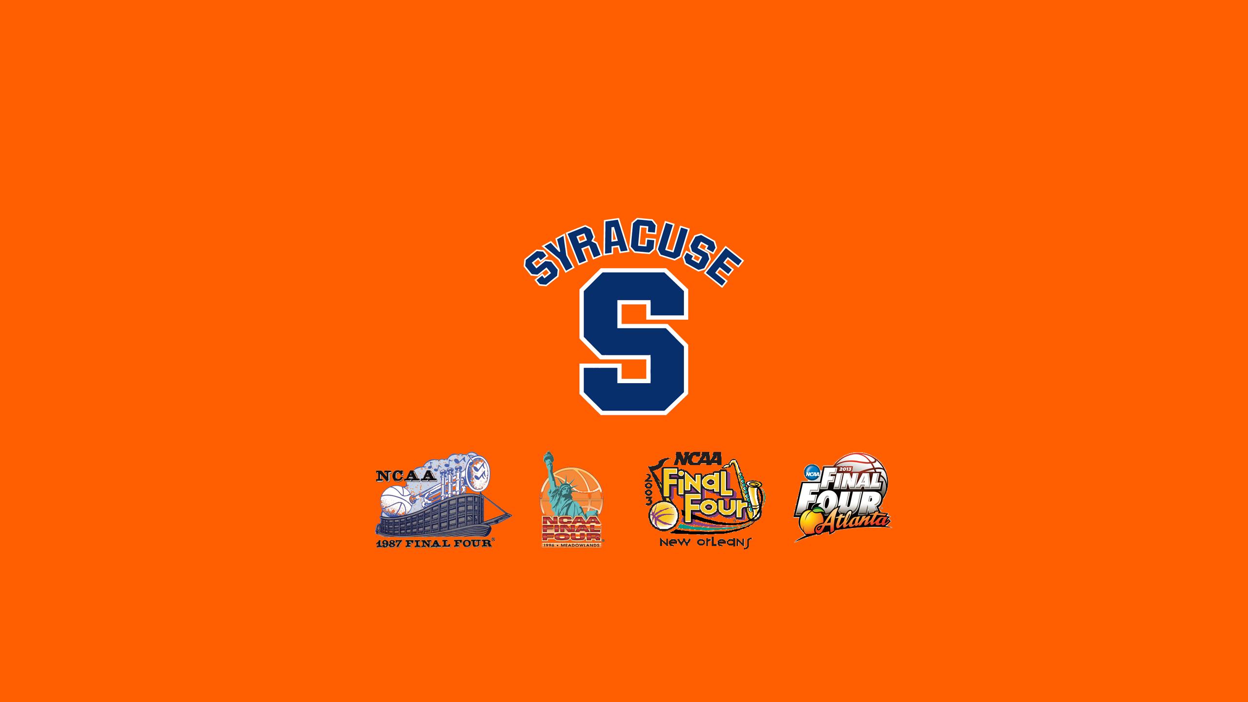 Syracuse University Desktop Wallpaper Wallpapersafari Final Four Orange Logo Syracuse