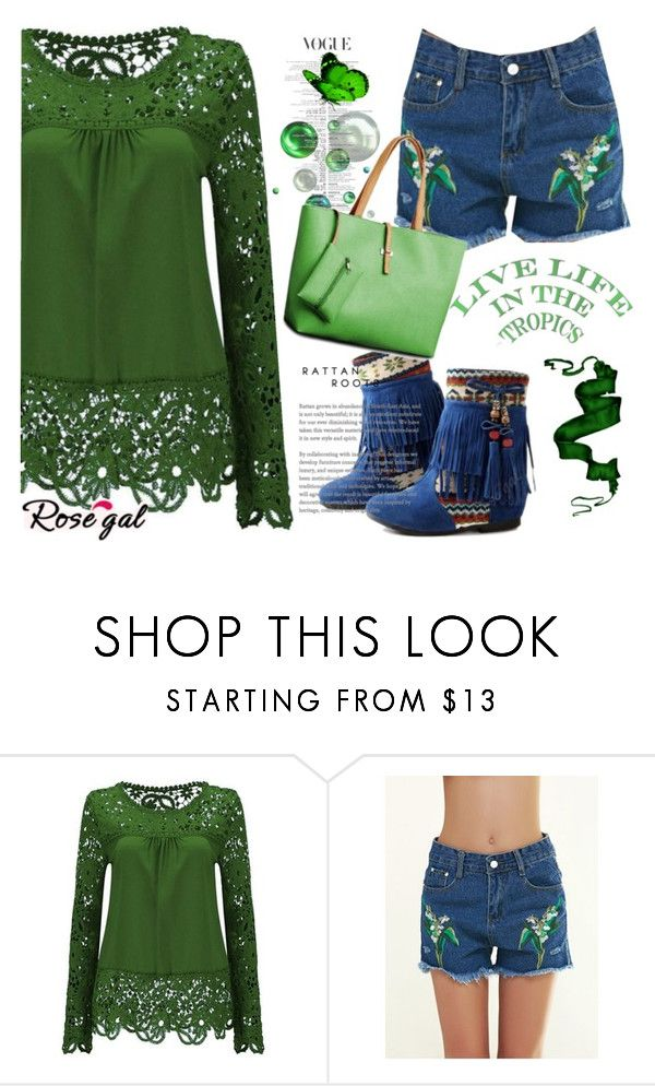 """Rosegal"" by jasminka-m ❤ liked on Polyvore"