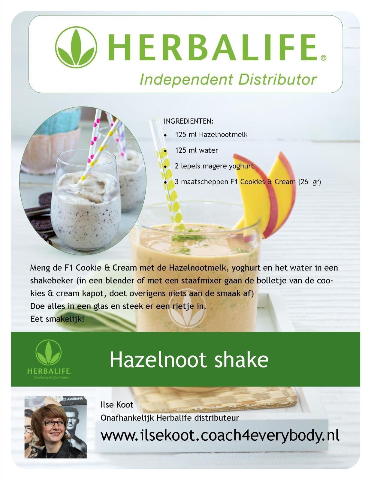 herbalife shake recept