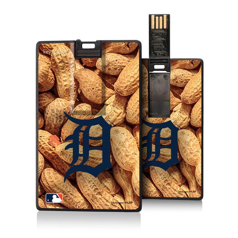 Detroit Tigers Peanuts 8GB Credit Card Style USB Flash Drive