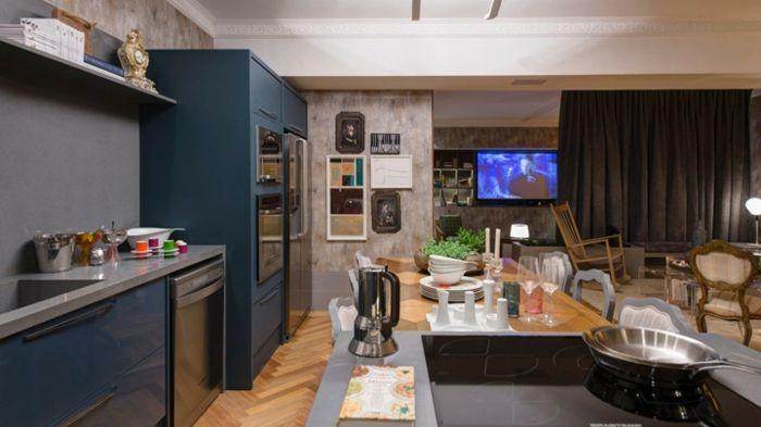 Offene Küche Ideen So können Sie eine moderne Küche einrichten - Küche Einrichten Ideen