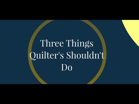 """Last week, I had the pleasure of teaching at QuiltCon in Austin, TX and I had an amazing time. In addition to teaching classes, I also gave a couple of lectures. One of which was titled, """"Becoming a Better Quilter"""". This lecture was unlike anything I..."""