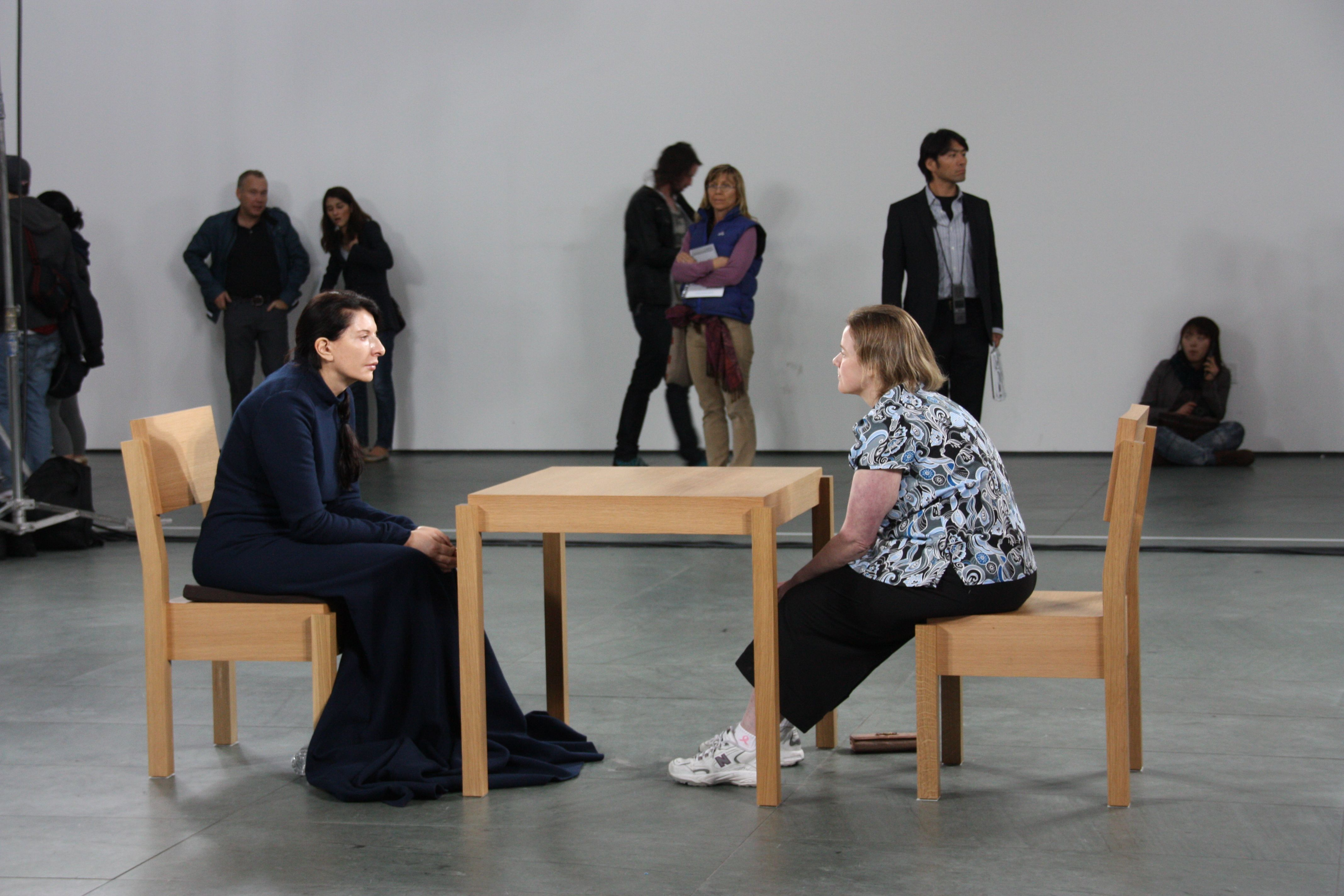 Marina abramovi the artist is present personal study marina abramovi the artist is present altavistaventures Images