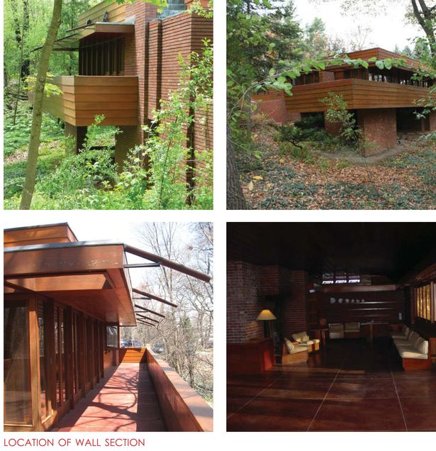 Original Drawings from Frank Lloyd Wright's Office