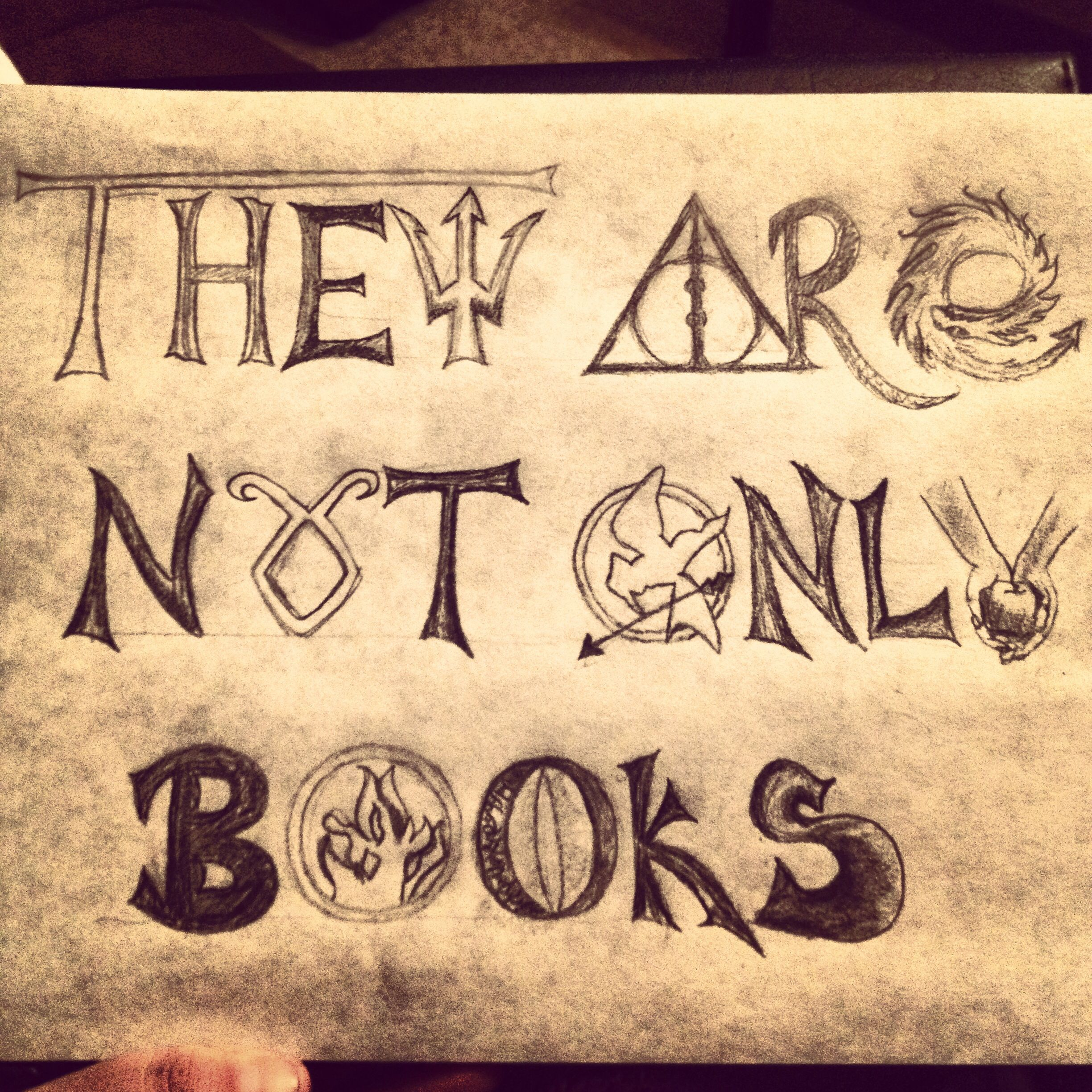 They Are Not Only Books Hunger Gamesharry Potter