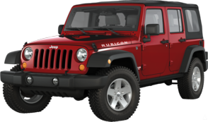 beautiful jeep wrangler unlimited rubicon the only thing is I would change it to half doors instead of full and bigger tires with a bit more lift
