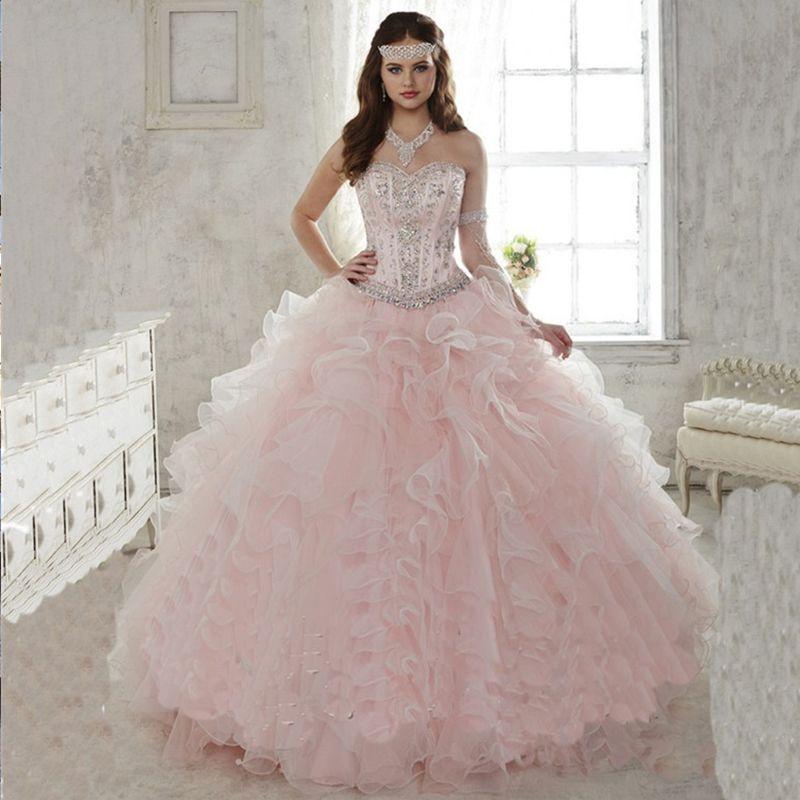 fe96bce09a Popular Light Pink Quinceanera Dresses-Buy Cheap Light Pink ...
