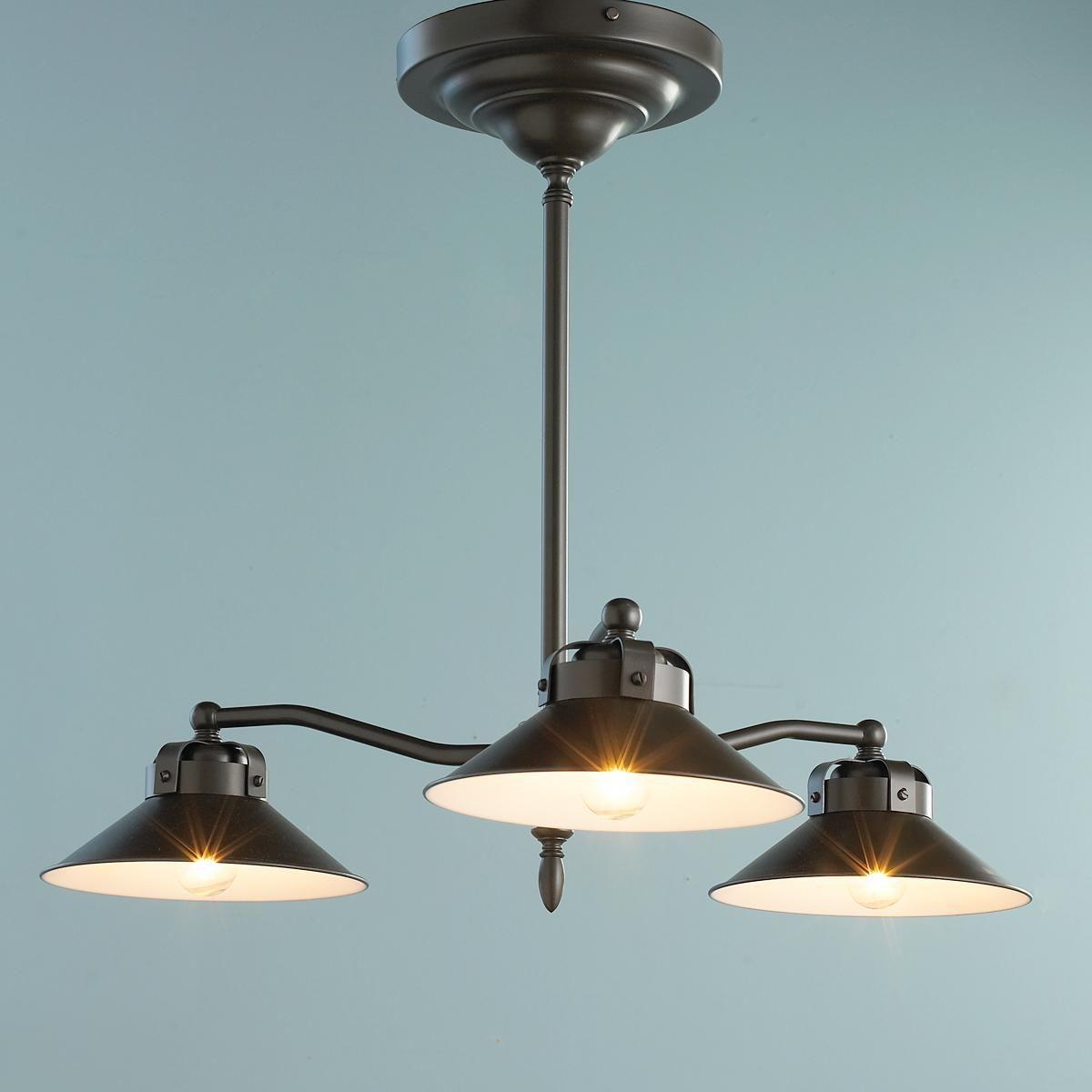 Industrial Inspired Downlight Kitchen Chandelier Dining Room