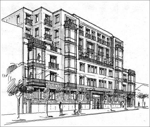 Sketch Building Design