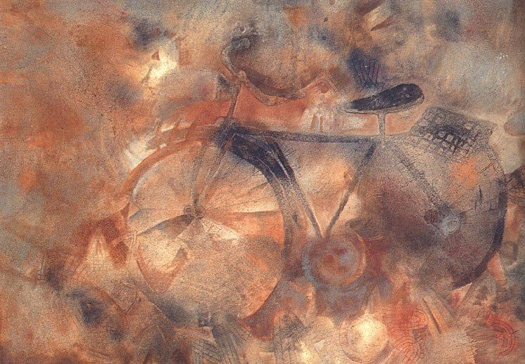 La Bicicleta Francisco Toledo Arte Latinoamericano Arte Pintora Mexicana