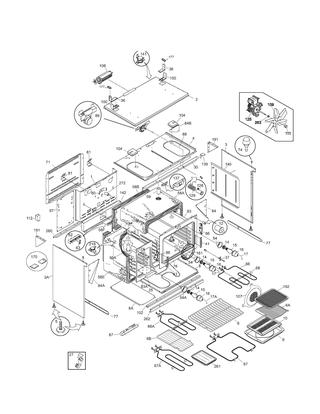 Shop For Kenmore Elite Range Repair Parts For Model 79075503208 At