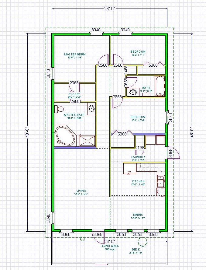 Kokoon Sip Panel Homes Narrow Lot Floor Plan Small