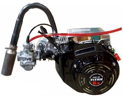 Titan TX200 Kart Racing Engine | Gentlemen, start your