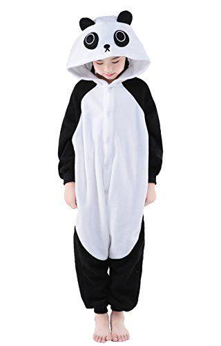 Kids Adult Panda Koala Sleepwear Pajama Rompers Animals Cosplay Lover/'s Costume