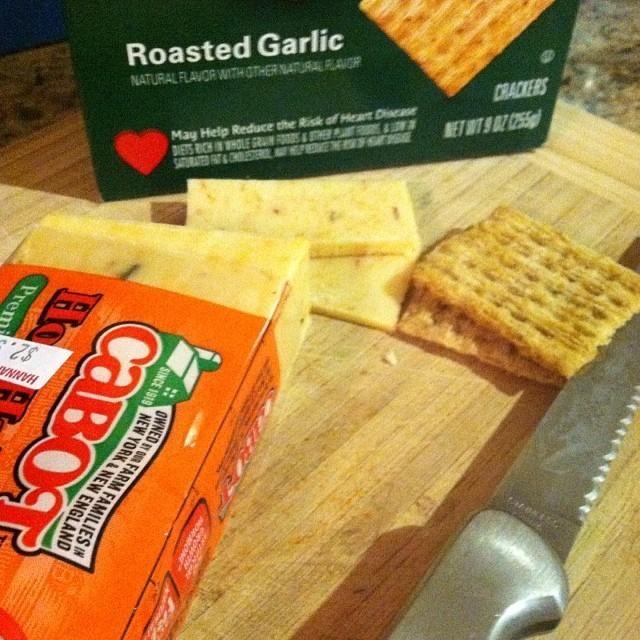 @Trisha & Hot Habanero Cheddar = #snackattack