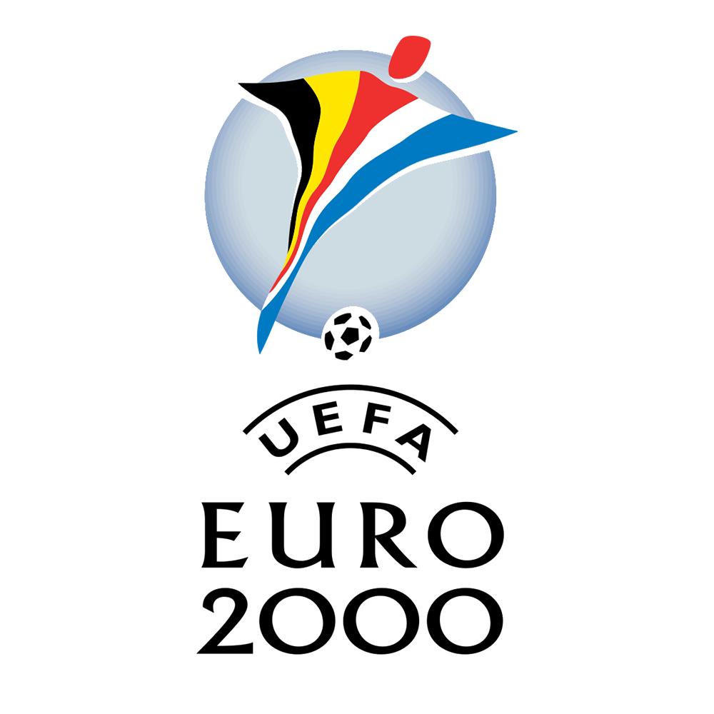 #Euro2000 // Campionato europeo di calcio Belgio Olanda 2000 // Logo