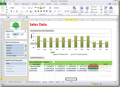 free excel 2010 dashboard templates | ... -Service Business ...
