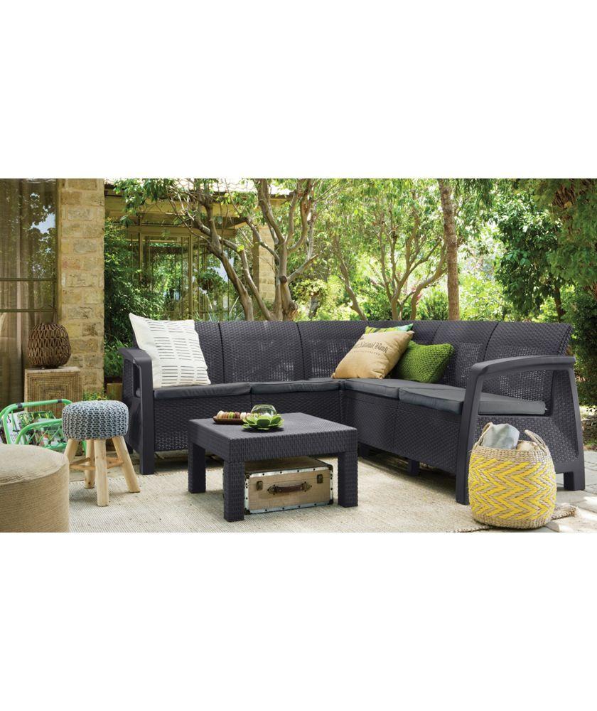 Buy Keter Bahamas Corner Sofa Set at Argos.co.uk - Your Online Shop ...