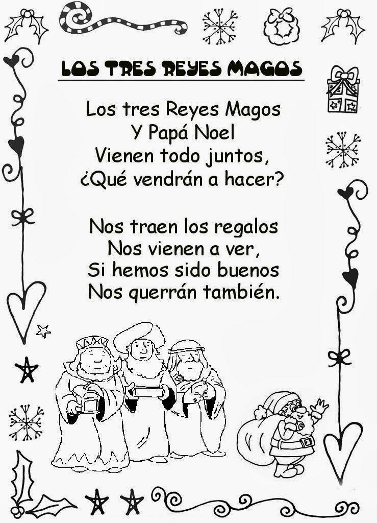 Frases De Navidad Para Niños Con Mensaje Poesias Navidad