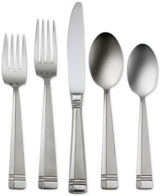 Oneida Amsterdam 50-Pc Flatware Set, Service for 8, A Macy's Exclusive