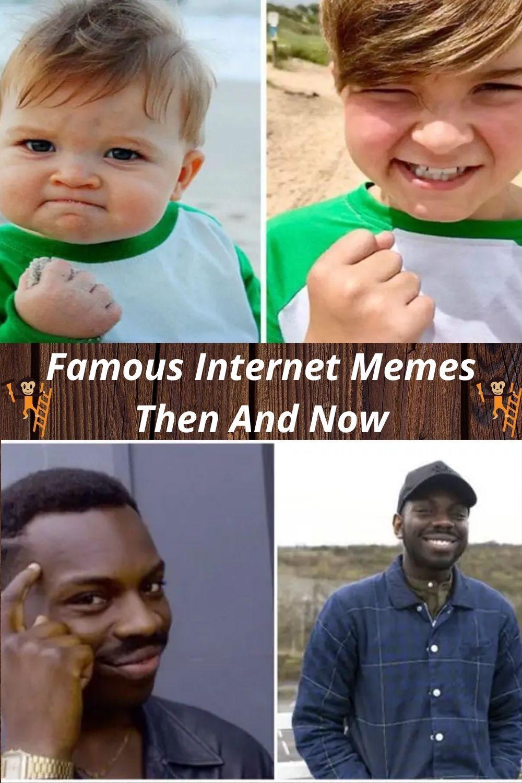Internet S Most Famous Meme Faces Then And Now Funny Photo Memes Meme Faces Funny Photos