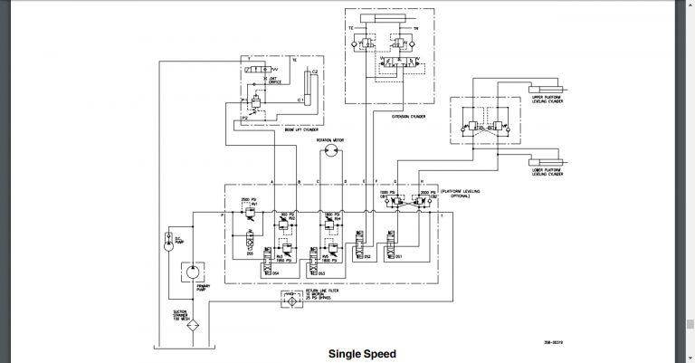 17 Eti Bucket Truck Hydraulic Diagram Truck Diagram In 2020